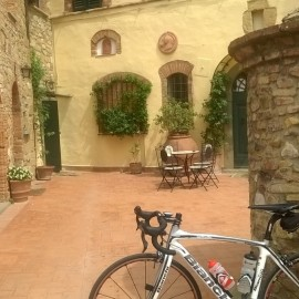 Greetings from Castello di Tignano in Chianti
