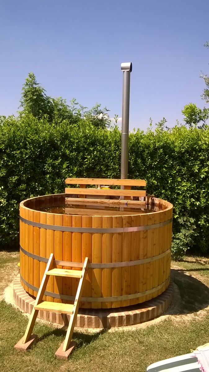 barrel soaking hot wood tub wine size interior best tubs